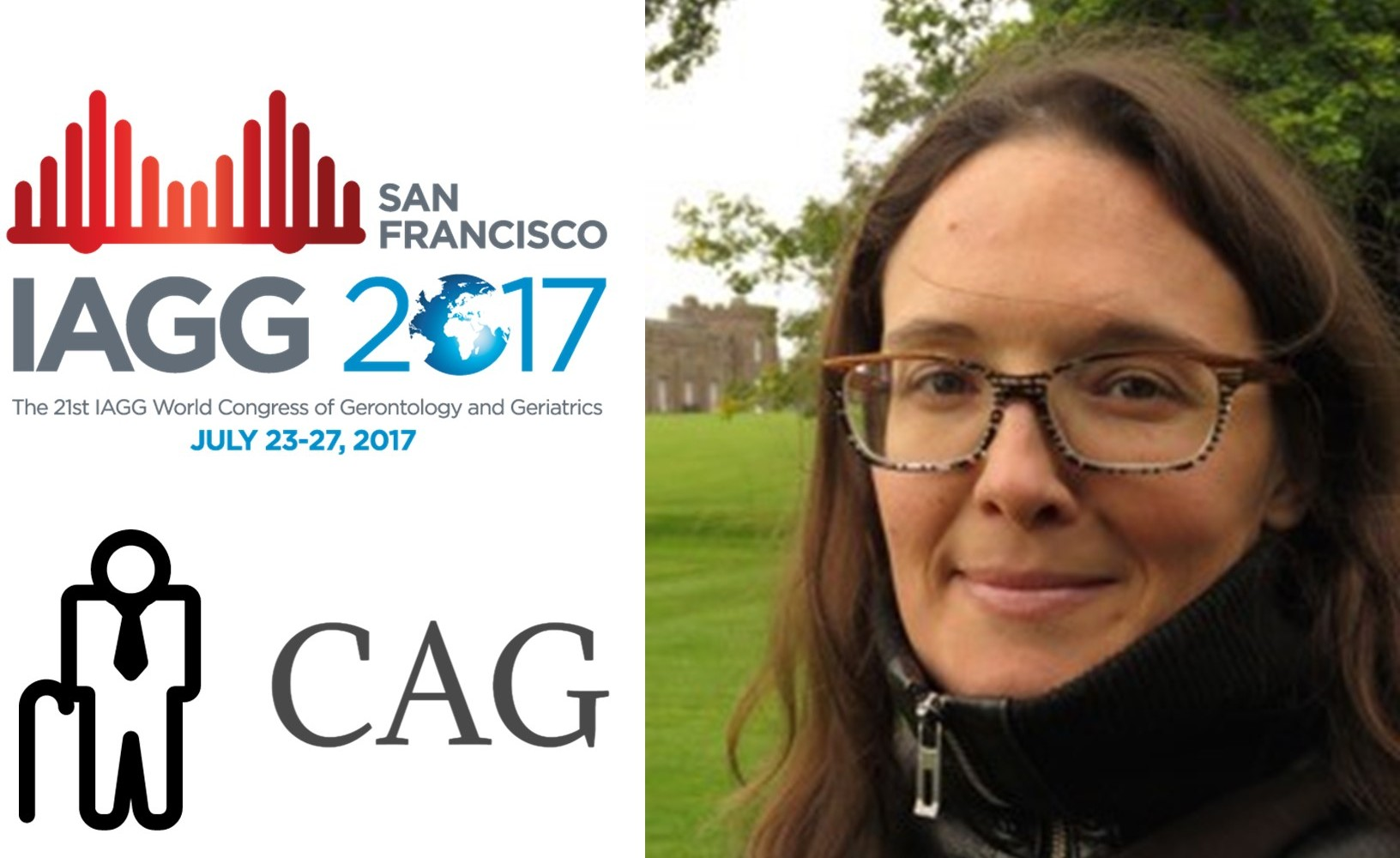 Congradulations to Delphine Labbé for recieving the Travel Grant to attend the IAGG 2017 World Congress!