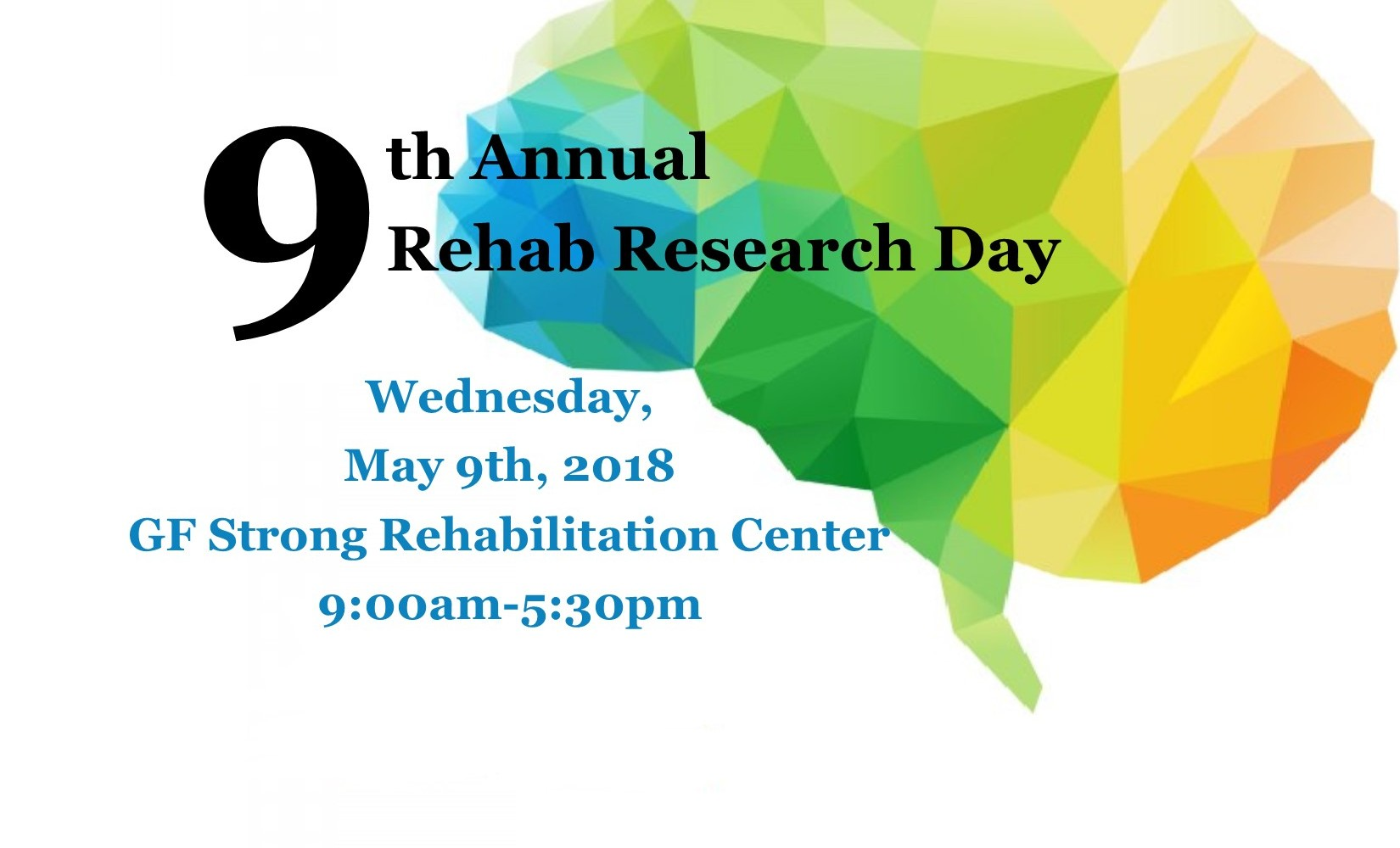 GF Strong Rehab Research Day