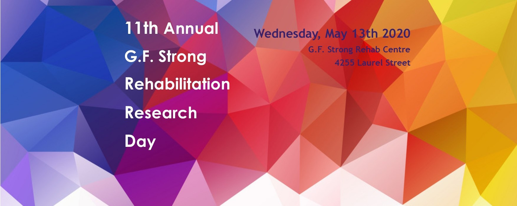 11th Annual GF Strong Rehab Research Day
